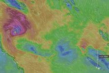 Projection Windy de Niran jeudi à 10 heures.