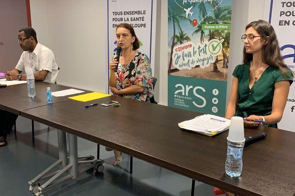 Conference de presse ARS 17 juillet