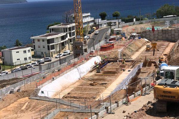 chantier lycée schoelcher