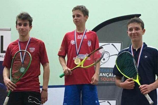 Brice Nicolas champion de France des moins de 15 ans