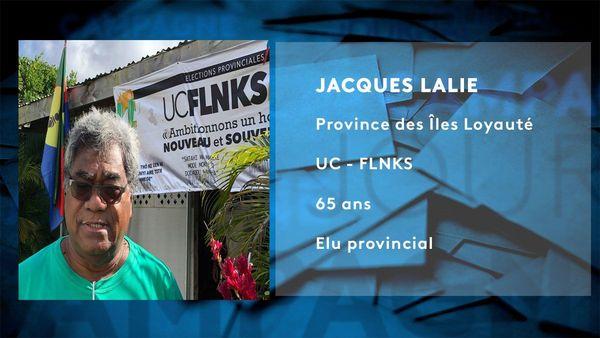 Fiche candidat Jacques Lalié