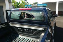 Des gendarmes pris pour cible, alors qu'ils menaient une opération de prévention dans une école de Saint-Benoît.