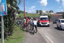 Un cycliste renversé par une voiture ce matin aux Trois-Îlets.