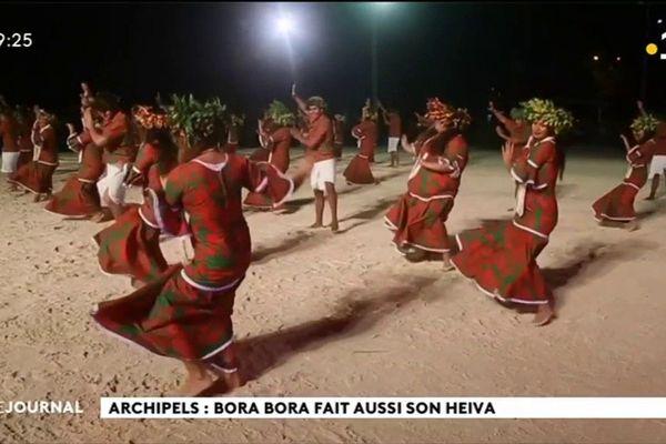 A la veille de l'ouverture du Heiva à Toata, les festivités du Heiva de Bora Bora se poursuivent.