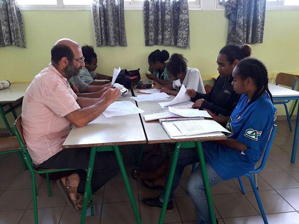Révisions à Do Kamo avant le bac, 21 octobre 2019, Jean-France Toutikian