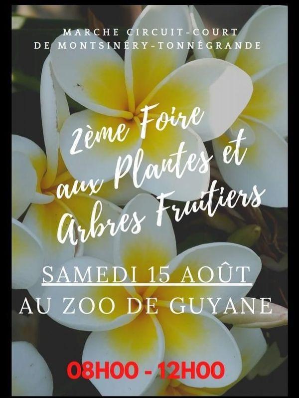 Zoo de Guyane vente de plantes