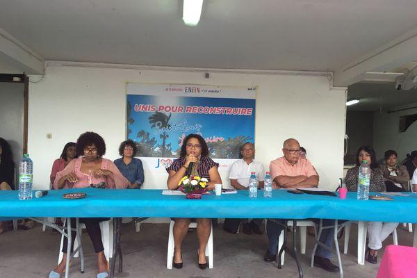 Conference de presse de Juliana m'Doihoma