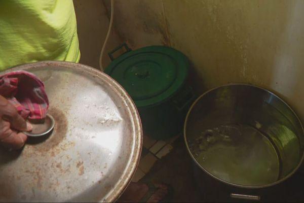 Manque d'eau à Oundjo, janvier 2020