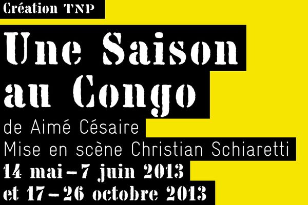 Une saison au congo TNP Césaire