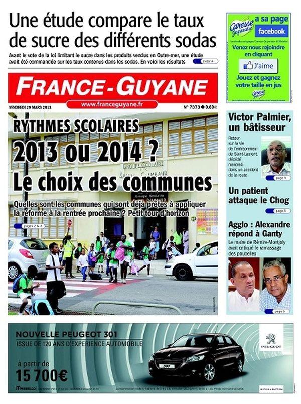 France-Guyane 29 mars 2013
