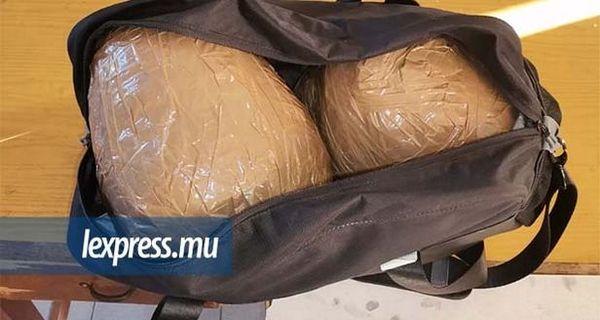 4kg de zamal de La Réunion saisis à Maurice le 23 nov 2020