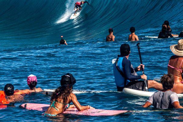L'Australien Owen Wright, Billabong Pro Tahiti 2014, 18 08 14 2