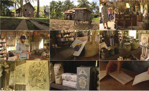 Visite du décor du film sur Gauguin