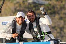 Nils Palmiéri et Julien Villion, vainqueurs de la 15ème édition de la Transat en double Concarneau-Saint Barth