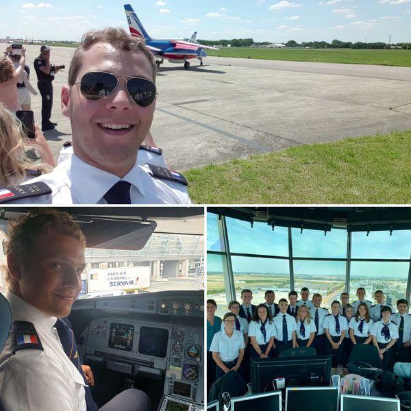 En 2019, il est sélectionné pour être un cadet de l'air pendant deux semaines à Londres