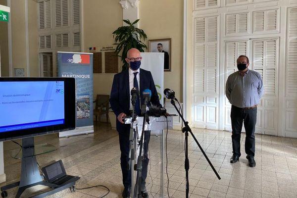 Conférence de presse du Préfet