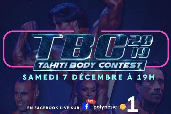 Tahiti Body Contest : en direct sur Polynésie la 1ère !
