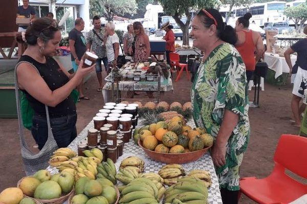 marché du terroir Punaauia