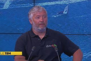 Yvan Bourgnon sur Martinique 1ère