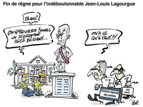 Le dessin de Souch : Jean-Louis Lagourgue