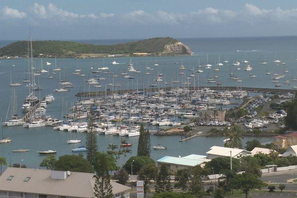 Marina Port du Sud. Baie de l'Orphelinat
