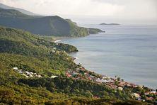 Commune de Pointe Noire sur la Côte sous le Vent, Guadeloupe