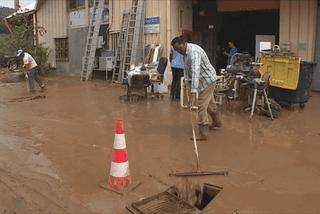 Inondations au Robert