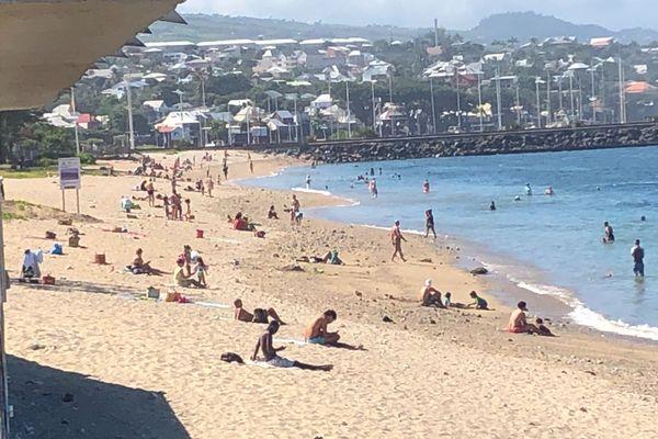 Déconfinement plage de Saint Pierre