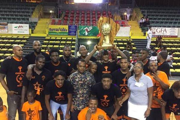 L'ASC Tours champion de Guyane de Basket 2017/2018