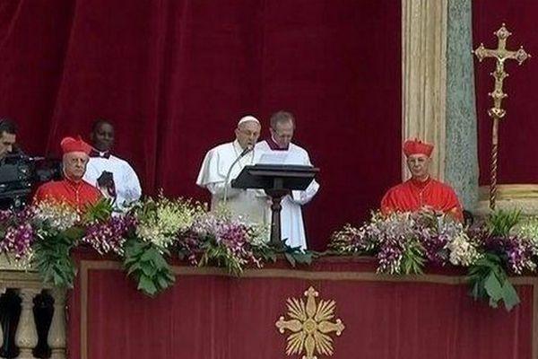 Pape François (Pâques 2015)