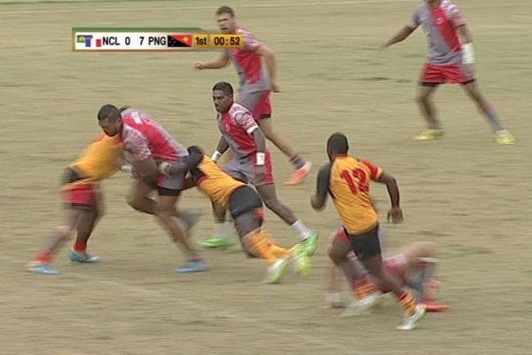 Rugby à 7 Hommes Nouvelle-Calédonie- Papouasie Nouvelle Guinée