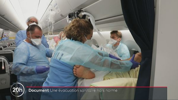 Transfert des patients vers Paris