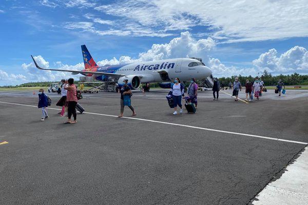 Vol rapatriement des résidents bloqués en Nouvelle-Calédonie