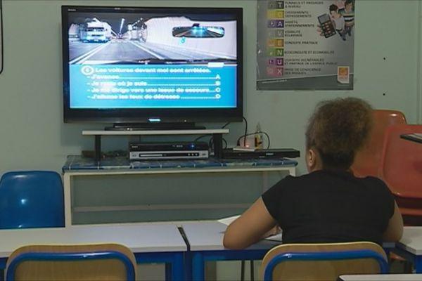 Examen du code de la  route