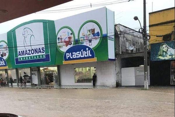 Inondation à Macapa