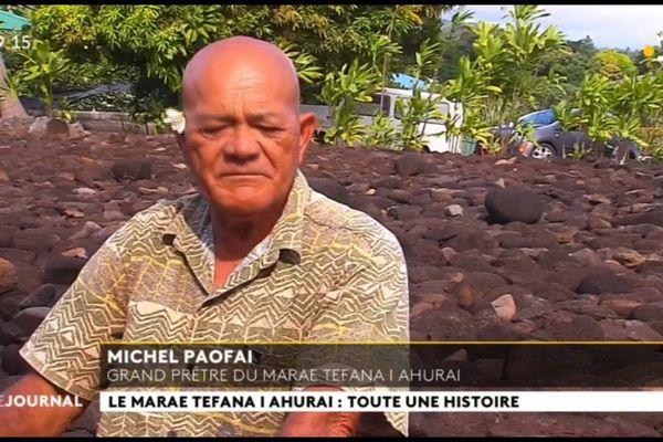 Au cœur du fenua : le marae Tefana i ahurai