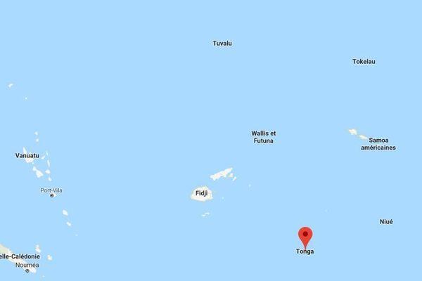 L'archipel de Tonga