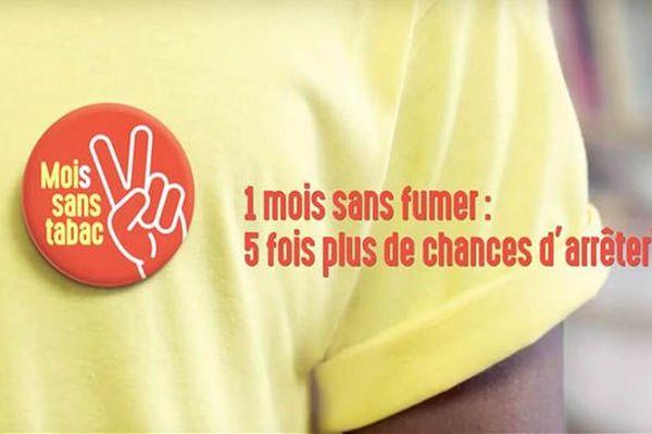 Affiche campagne Mois sans tabac