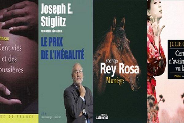 Sélection livres octobre 2012