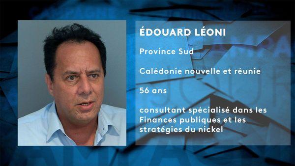 Fiche candidat Edouard Léoni