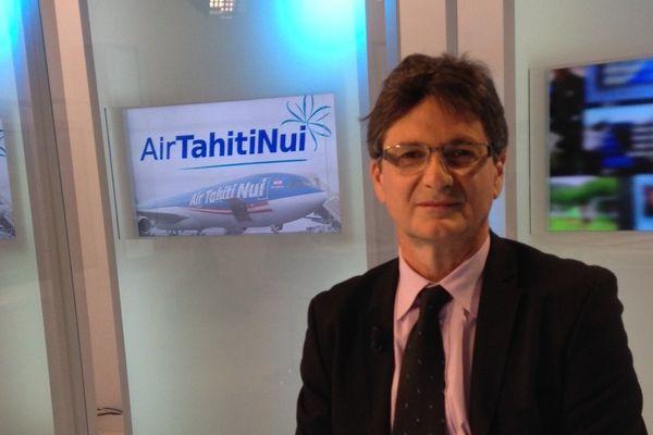 Michel Monvoisin PDG Air Tahiti Nui et Tahiti Tourisme