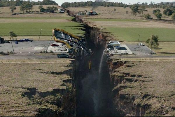 Capture film San Andreas séisme
