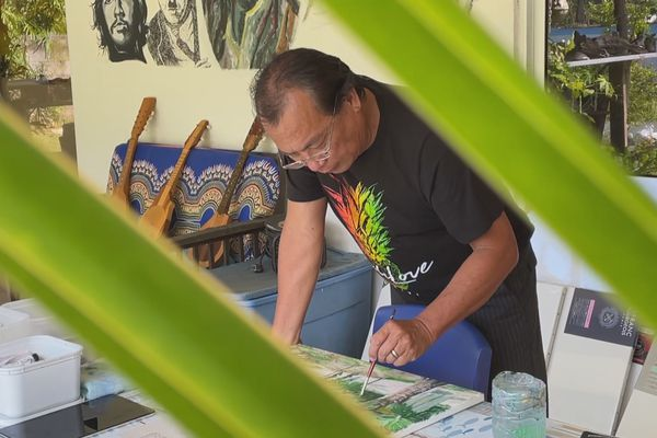 Torea Chan, artiste peintre