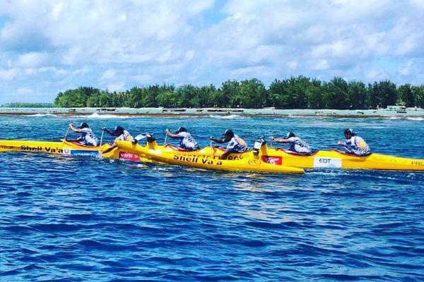 Shell Va'a s'impose pour la première étape du Tetiaroa Royal Race
