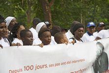Manifestation à Bamako le 17 juillet 2021 en soutien à Olivier Dubois