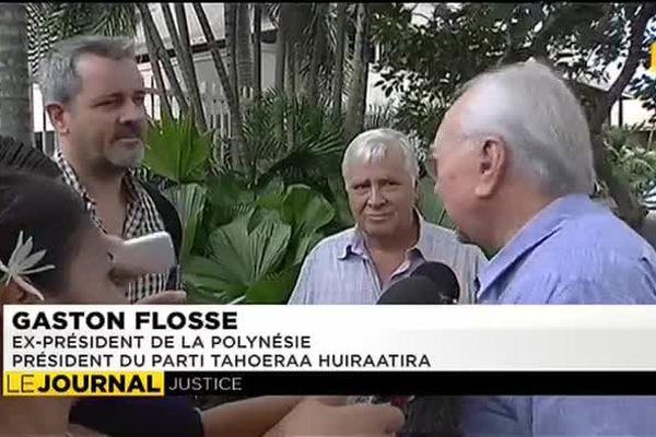 Gaston Flosse et sa compagne soupçonnés de vol d'argenterie