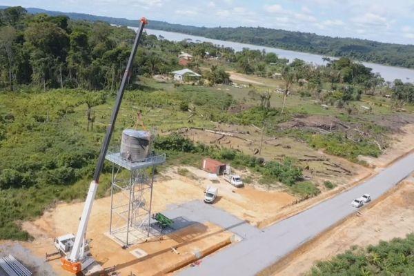 Apatou : bientôt de l'eau potable pour les écarts du bourg