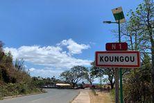 entrée du village de Koungou
