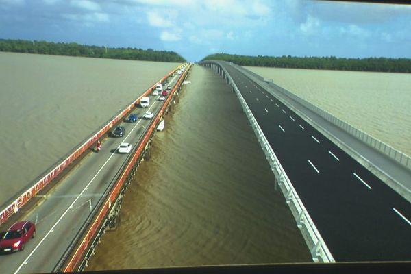 Projet nouveau pont Larivot