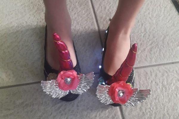 """Crazy Shoes Day"" licornes"